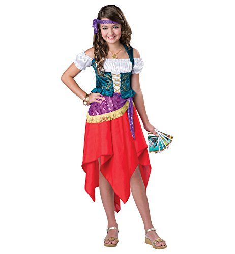 Amazon.com: Mystical gitana Niño Disfraz – Pequeño: Clothing