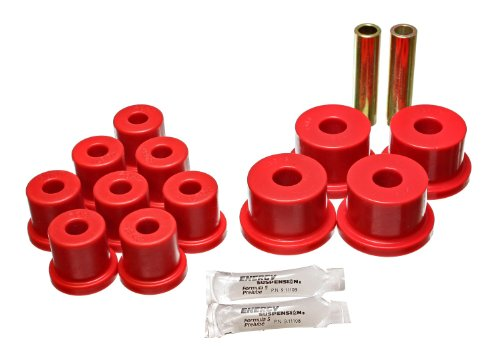 Energy Suspension 4.2123R Rear Leaf Spring Bushing for Ford by Energy Suspension