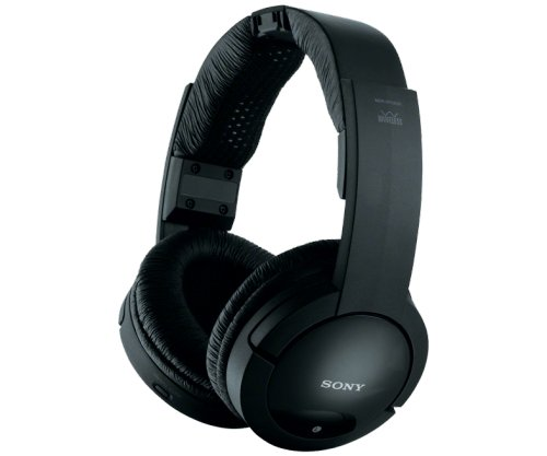 SONY Black MDR-RF985RK Wireless Radio Frequency Headphones