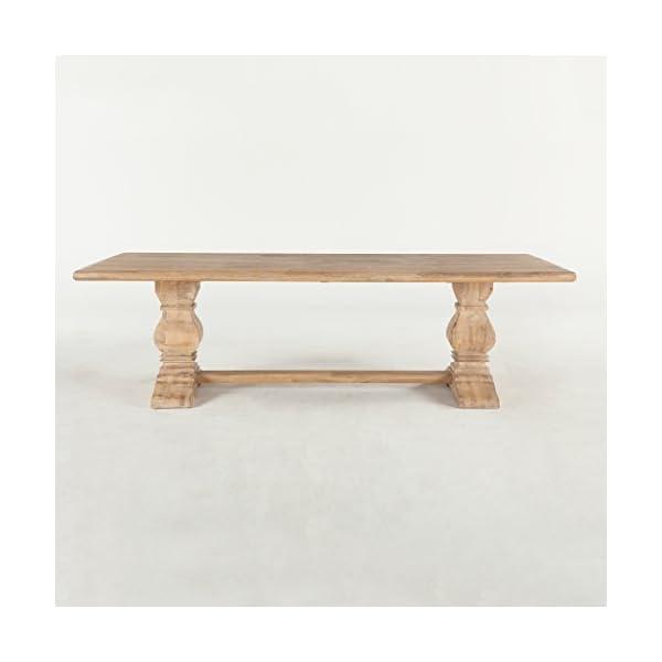 World Interiors Antique Oak Dining Table