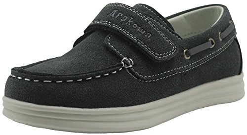 Image of Apakowa Kids Boys Loafers Casual Slip On Boat Shoes (Toddler/Little Kid/Big Kid)