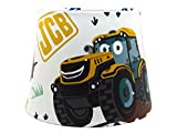 "JCB Digger Lampshade or Ceiling Light Shade 10"" Boys Bedroom Nursery Tractor Truck Lamps Accessories Gifts"