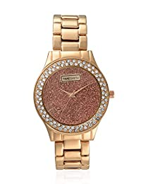 TimeSmith Limited Edition Copper Dial Rose Gold Metal Watch for Women TSM-108