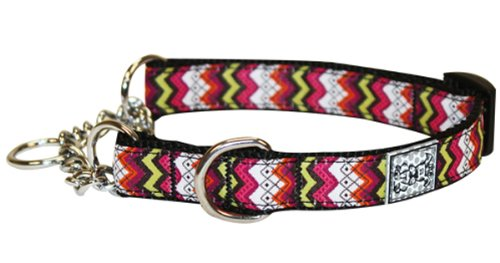 RC Pet Products 3/4-Inch Training Martingale Dog Collar, Medium, Tribeca