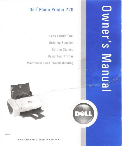 Dell Photo Printer 720 - Owner's ()