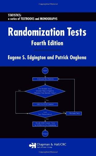 Randomization Tests (Statistics:  A Series of Textbooks and Monographs)