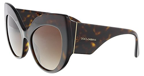 Dolce & Gabbana sunglasses (DG-4321 502/13) Dark Havana - Brown Gradient lenses