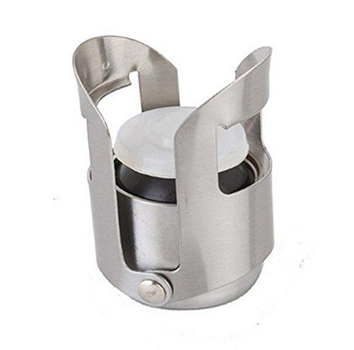 FTXJ Stainless Steel Champagne Wine Saver Stopper Wine Bottle Plug Sealer Wine Accessory by FTXJ (Image #1)