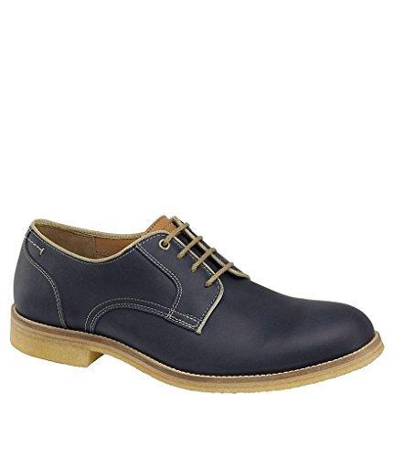 J&M Est. 1850 Men´s Howell Plain Toe Oxfords (9.5, Navy Oiled Leather)