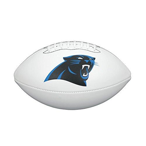 - NFL Team Logo Autograph Football Carolina Panthers