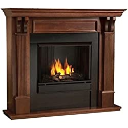 Ashley Gel Fireplace in Mahogany (Mahogany)