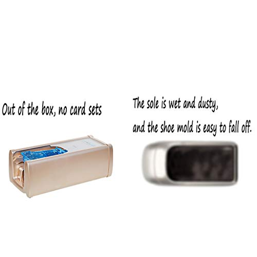 LDY Household Office Fully Automatic Disposable Shoe Film Machine + 100 Plastic Shoe Covers Non-Slip by LDY (Image #4)