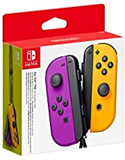 Nintendo Switch Joy-Con Controller Pair [Purple/Neon Orange]