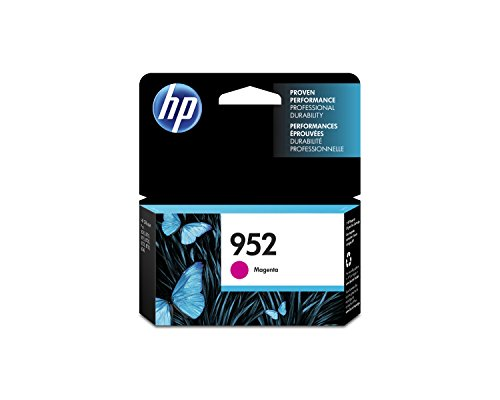 Pro Magenta Ink - HP 952 Magenta Original Ink Cartridge (L0S52AN) for HP OfficeJet Pro 7740 8702 8710 8715 8720 8725 8730 8740