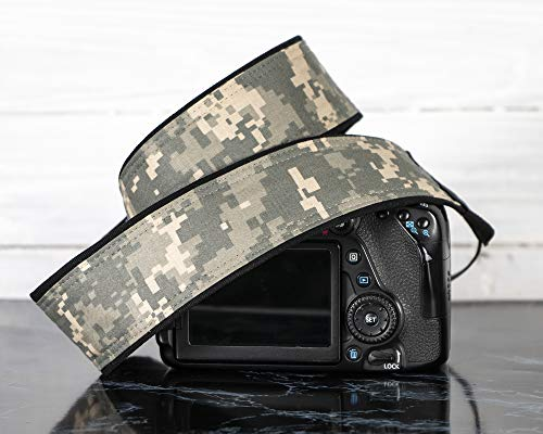 Camera Strap, 294 Digital Camo for dSLR, SLR or Mirrorless Cameras ()