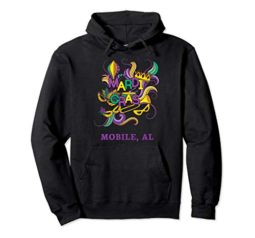 Mardi Gras Parade Carnival Mobile Alabama Hoodie Sweatshirt ()