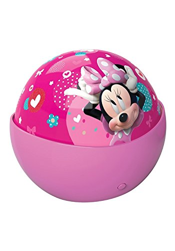In My Room Disney Minnie Mouse Bow-u-tiful Tabletop Décor Night Light Projector (Minnie Home Decor)