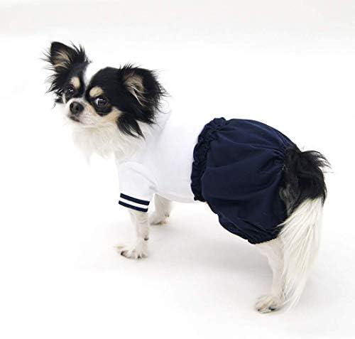ちょうちんブルマ体操着型紙 eco印刷 胴長中型犬XS~S