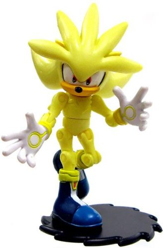Jazwares Sonic The Hedgehog Silver Action Figure [Super Loose]