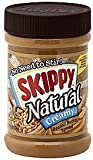 Skippy Peanut Butter Creamy, Natural, 15 OZ (Pack of 3)