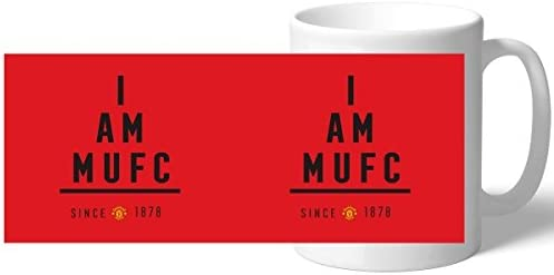 Official Personalised Manchester United FC I Am Mug