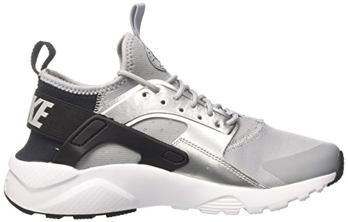 white Nike Silver wolf Mixte black Enfant metallic Air Grey Sneakers Run Noir Basses gs Huarache Ultra 1Zqw1xSp