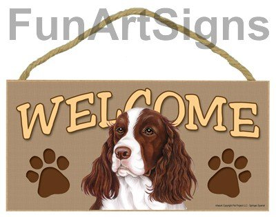 Spaniel Welcome Sign - 6