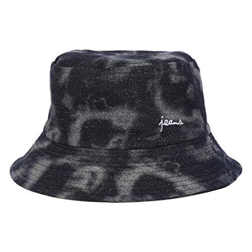 LtrottedJ Fashion Hat Adults Bucket Hat Summer Sun Fishing Fisher Beach Festival Cap (Gray)
