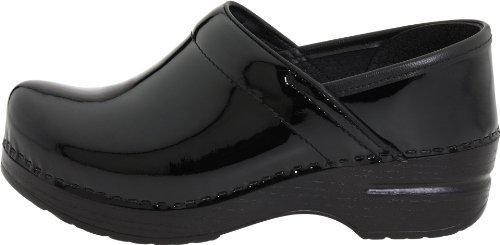 Dansko Women's Professional Patent Leather Clog,Black Patent,40 EU / 9.5-10 B(M) US by Dansko (Image #4)