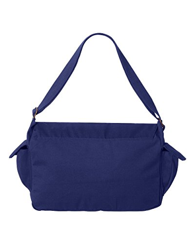 Tenacitee Aged Like a Fine Wine 2020 Royal Blue Brushed Canvas Messenger Bag by Tenacitee (Image #2)