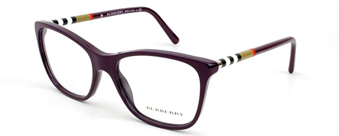 81744428d7a4 Image Unavailable. Image not available for. Colour  BURBERRY Eyeglasses BE 2141  3400 Violet 51MM