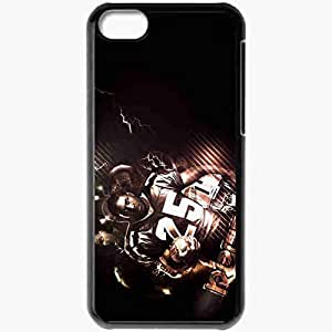 Personalized iPhone 5C Cell phone Case/Cover Skin 1502 new orleans saints Black
