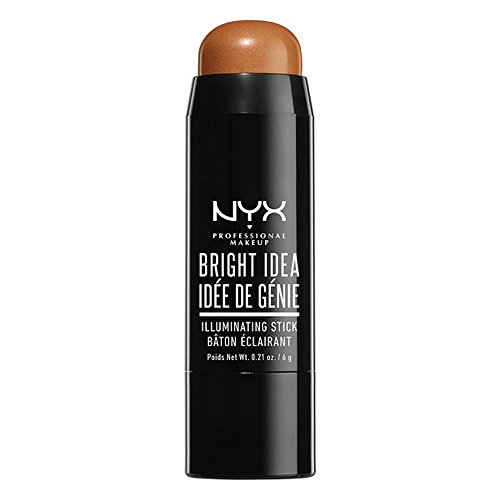 NYX Professional Makeup Bright Idea Stick, Topaz Tan, 0.21 Ounce