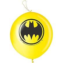 Batman Punch Ball Balloons, 2ct