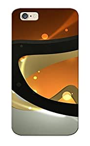 Ellent Design Curves Phone Case For Iphone 6 Premium Tpu Case For Thanksgiving Day's Gift