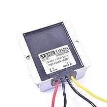 EKYLIN Car DC 12V 4A Voltage Stabilizer Surge Protector Power Supply Regulator for Auto Truck Vehicle Boat Solar System etc.(DC10-36V Input, DC12V Output)