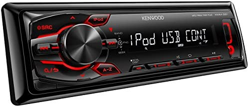 Kenwood Electronics KMM-261 - Receptor de medios digitales (USB, LCD, negro): Amazon.es: Electrónica