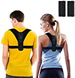 Jasonwell Posture Corrector for Man Woman, Invisible Relieves Shoulder Pain Adjustable Unisex Shoulder Support…