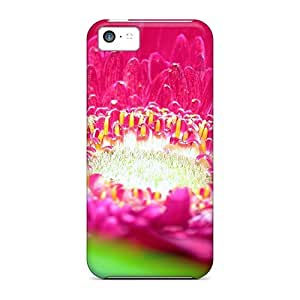 Case Cover, Fashionable Iphone 5c Case - Pink Daisy Flower