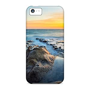 Hard Plastic Iphone 5c Cases Back Covers,hot Cool Horizon Cases At Perfect Customized