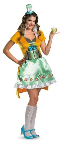 Mad Hatter Sassy Costume - Small - Dress Size 4-6