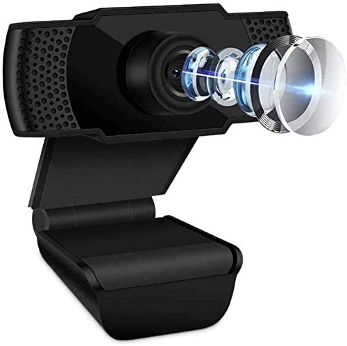 1080P Webcam with Microphone HD Streaming Computer Webcam for PC Video Conferencing Calling Gaming