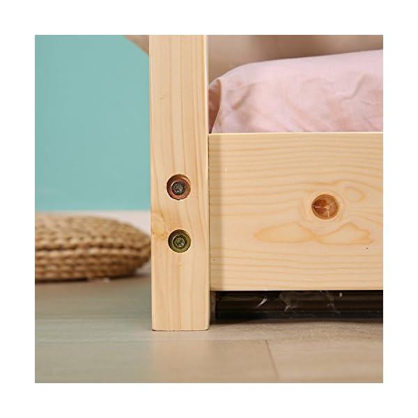 Kids House Bed Frame & Mattress 7