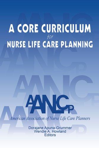 A Core Curriculum for Nurse Life Care Planning Pdf