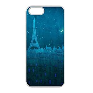 Welcome!Iphone 5/5S Cases-Brand New Design Eiffel Tower Printed High Quality TPU For Iphone 5/5S 4 Inch -05