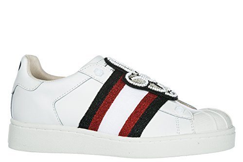 Moa Master Of Arts Sneakers Donna Sneakers In Pelle Da Donna Mickey Pat