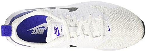 Nike Air Max Tavas, Chaussures de Running Compétition Homme Blanc Cassé (White/Black/Paramount Blue)