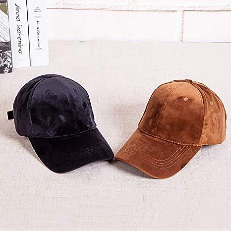 Westeng Gorra Unisex, Sombrero de Sol de Terciopelo Dorado Gorras ...