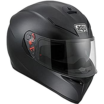 Amazon.com: AGV Veloce-8 Veloce S Adult Helmet - Black/White ...