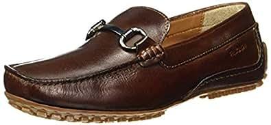 Ruosh Casual Men's Loafers & Moccasian 45 EU Shoes, Tan